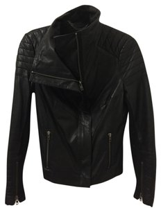 Muubaa Leather Leather Quilted Leather Leather Jacket