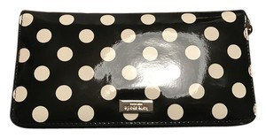 Kate Spade Kate Spade New York Neda Wallet Black/Cream Polka Dot