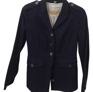 Burberry Brit Burberry Buttons Military Detail Navy blue Jacket