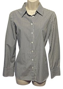 J.Crew Button Down Shirt Navy & White