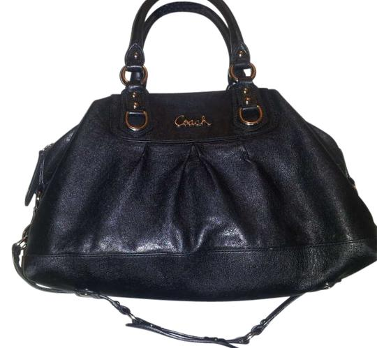 Preload https://item2.tradesy.com/images/coach-black-leather-satchel-204061-0-0.jpg?width=440&height=440