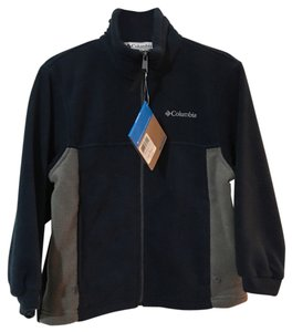 Columbia Sportswear Company Full Front Zip Blue and Gray Jacket