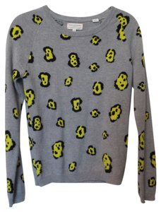 Chinti and Parker Cashmere Leopard Sweater