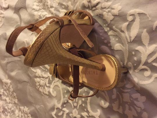 Talbots Cold and nude Sandals