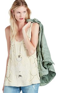 Lucky Brand 7w43012 Top IVORY