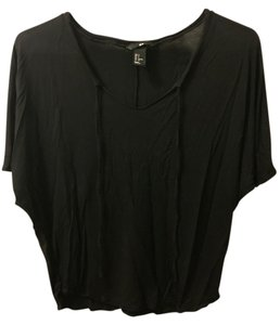 H&M Dolman T Shirt Black