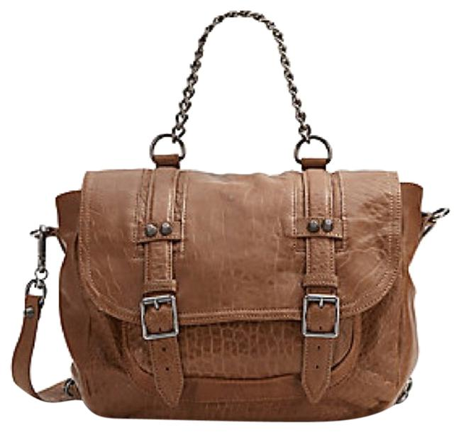 Item - Convertible Taupe Leather Backpack