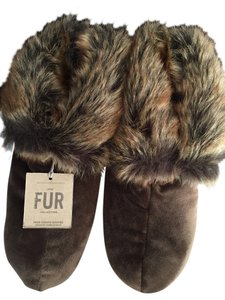 Renovation Hardware Faux Fur Brown Boots