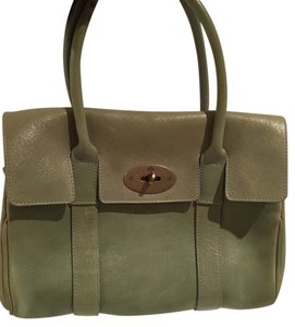 Mulberry Tote in mint green