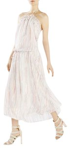 Pink combo Maxi Dress by BCBGMAXAZRIA Runway Two Options To Wear