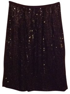 Silk Black Beaded Vintage Skirt Skirt Black Silk Beaded