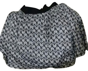 Lane Bryant Skirt Black with print