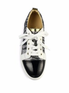 Christian Louboutin Gondoliere Lace Glitter Patent Leather multy Athletic