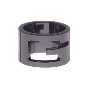 Gucci Gucci Branded Wide Ring
