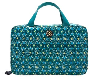Tory Burch Tory Burch 'Brigitte' Hanging Zip Cosmetics Case Electric Eel Mosaic