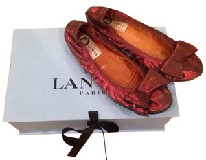 Lanvin Red Flats