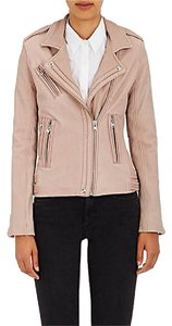 IRO Leather Pink Leather Jacket
