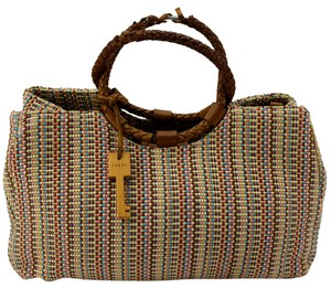 Fossil Satchel in Multicolor