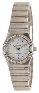 Omega Omega Stainless Steel Mini Constellation Women's MOP Watch