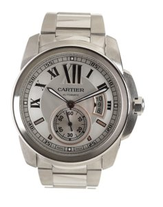 Cartier Cartier Stainless Steel Calibre Large Men's Automatic Watch