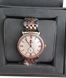 Michele (Rosegold/Silver) Michele Gracile Rose Gold & Silver watch