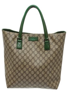 Gucci Tote in Brown/Green