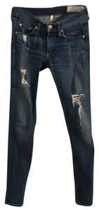 Rag & Bone Intermix Vince Theory Denim Skinny Jeans