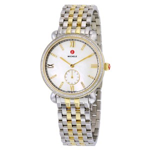 Michele NWT Michele gracile gold & silver watch