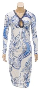 Emilio Pucci short dress Blue/White on Tradesy