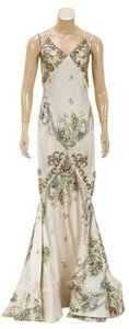 Cream Maxi Dress by Roberto Cavalli