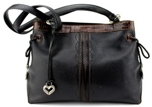 Brighton Tote in Black, Brown