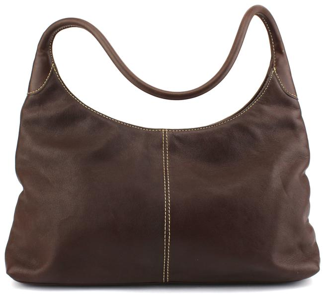 Item - Classic Brown Leather Hobo Bag