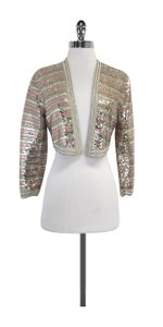 Marc by Marc Jacobs Sequin Striped Wool Jacket