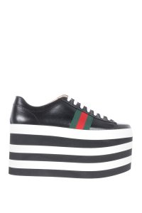 Gucci Sneakers Black Platforms