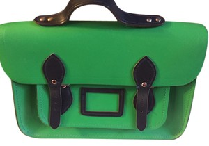The Cambridge Satchel Company Satchel in Green and Blue