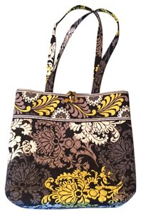 Vera Bradley Tote in multi, black, grey, white and gold print