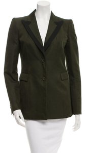 Givenchy The Row Balmain Pant Suit Hermes Forest, Dark Green Blazer