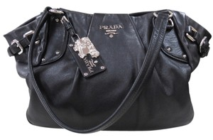Prada Leather Balck Shoulder Bag