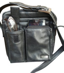 Wilsons Leather Credit Card Holder Cross Body Bag