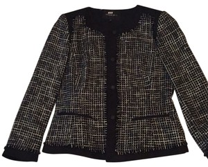 Lafayette 148 New York black with grey Blazer