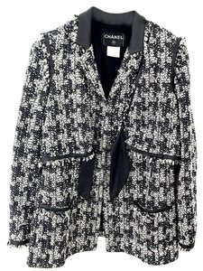 Chanel Tweed Tweed Jacket Tweed Vest Jacket Blazer