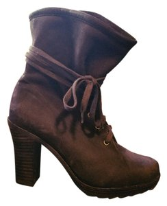 Farylrobin Anthropologie Brown Boots