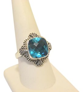 Nicky Butler Nicky Butler 6.15ctw Carribbean Blue Quartz Ring 9