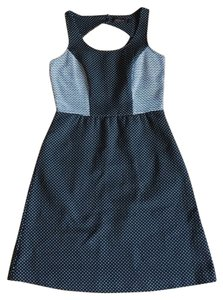 The Limited Work Polkadots Knee Length Classic Dress
