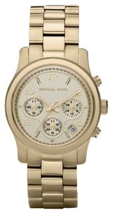 Michael Kors Runway Chronograph Women's Gold Tone Stainless Steel Watch MK5055