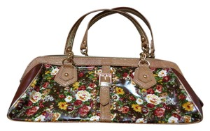 Nicole Lee Studded Floral Shoulder Bag