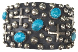 Ronnie Willie Silver and Turquois , Bracelet