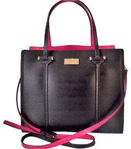 Kate Spade Satchel in Black, Pink