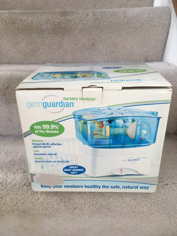 Germguardian New Dryheat Nursery Sanitizer 12345678