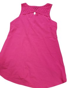 Nicole Lace Summer Top Pink